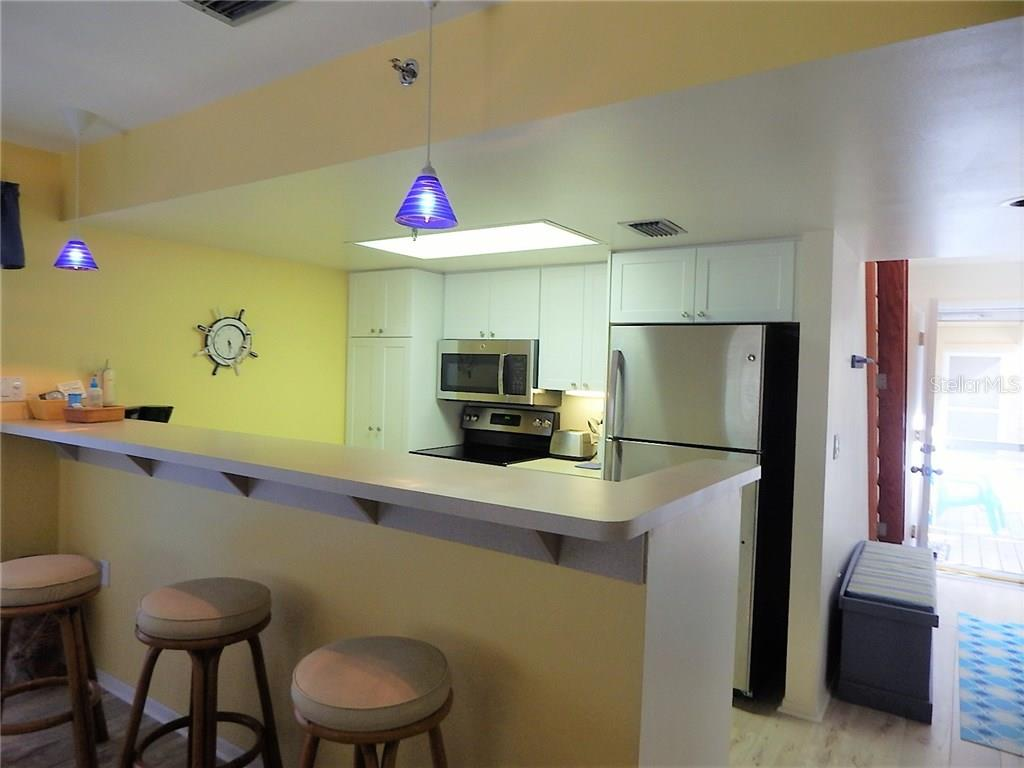 Newly updated kitchen - Condo for sale at 9200 Little Gasparilla Is #201, Placida, FL 33946 - MLS Number is D5909647