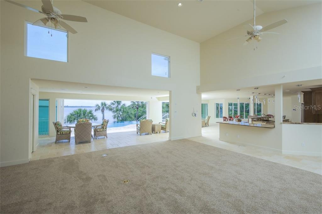 Great Room with Access to Lanai & Pool - Single Family Home for sale at 7295 Manasota Key Rd, Englewood, FL 34223 - MLS Number is D5911936