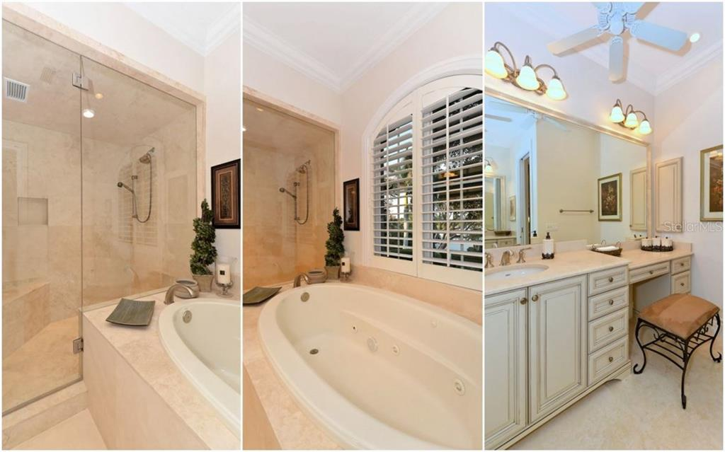 Master Bath - Single Family Home for sale at 730 N Manasota Key Rd, Englewood, FL 34223 - MLS Number is D5912725
