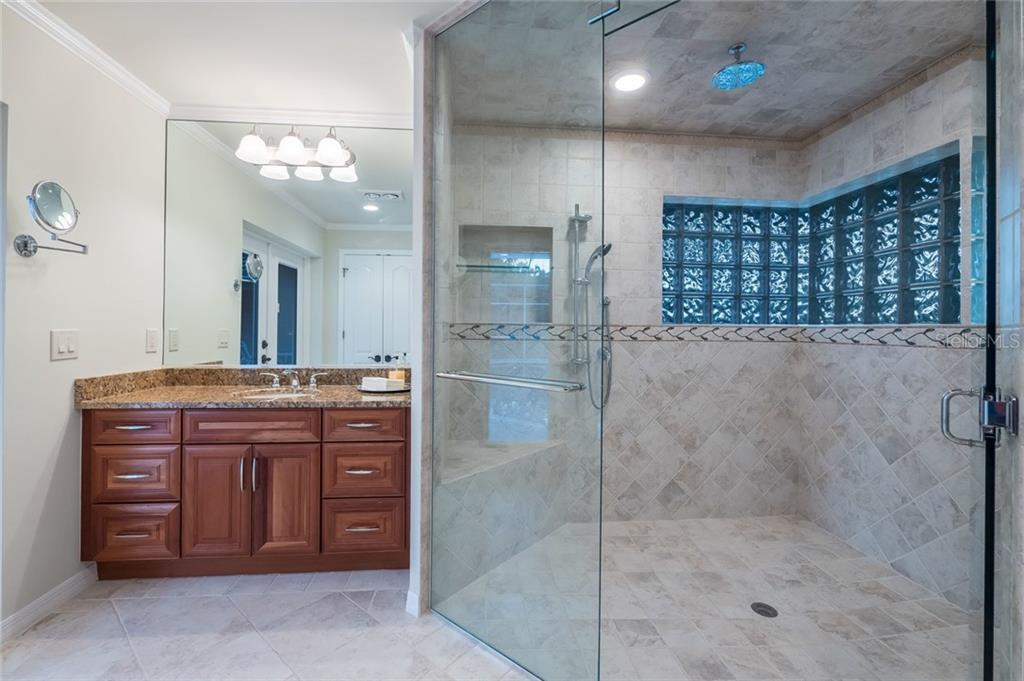 Guest bath 2 with steam shower - Single Family Home for sale at 260 Capstan Dr, Cape Haze, FL 33946 - MLS Number is D5919159
