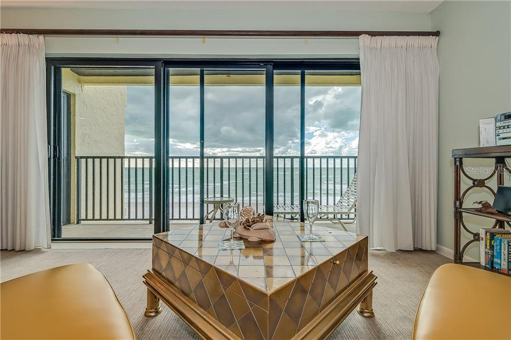 LIVING ROOM AREA OVERLOOKING THE GULF OF MEXICO - Condo for sale at 5700 Gulf Shores Dr #a-317, Boca Grande, FL 33921 - MLS Number is D5922412
