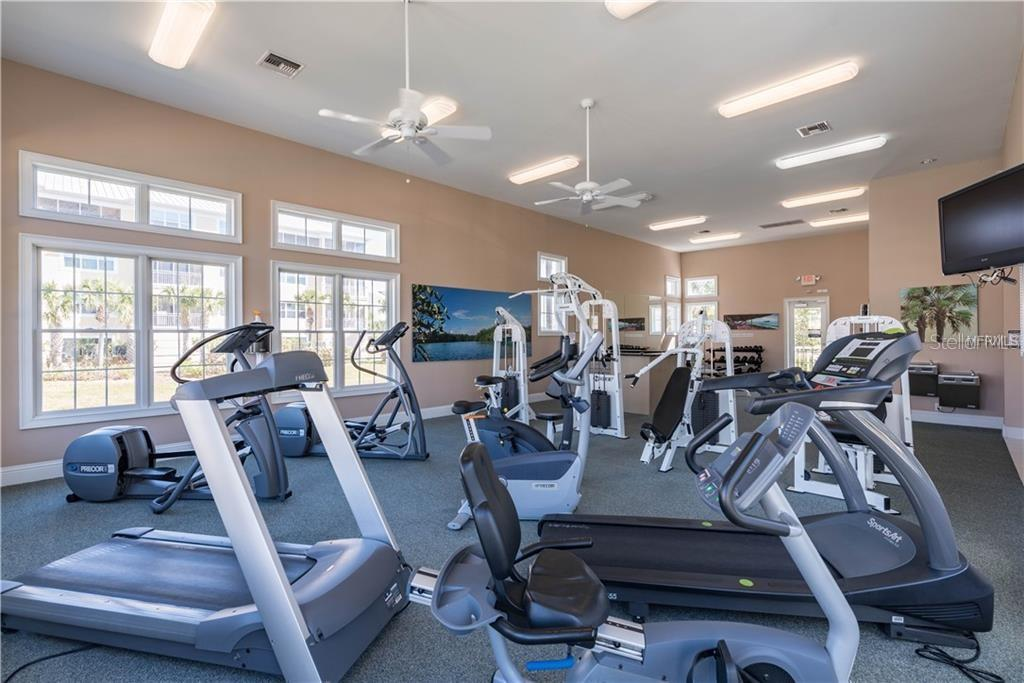 Fitness Center - Condo for sale at 8541 Amberjack Cir #402, Englewood, FL 34224 - MLS Number is D5923680