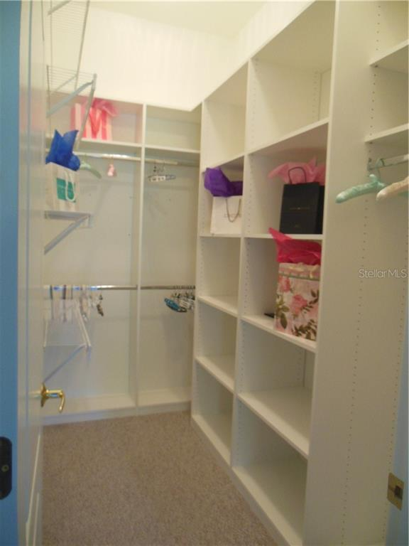 Upgraded Master Closet - Villa for sale at 1116 Yosemite Dr, Englewood, FL 34223 - MLS Number is D6100080