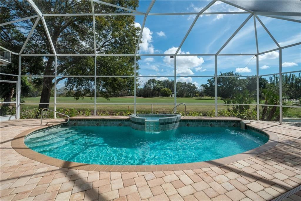 Waterfall Pool - Single Family Home for sale at 422 Wincanton Pl, Venice, FL 34293 - MLS Number is D6101809