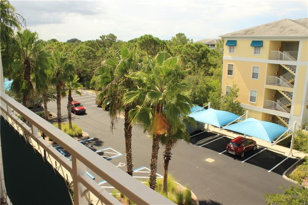 Top floor view from the front door. - Condo for sale at 8409 Placida Rd #403, Placida, FL 33946 - MLS Number is D6102047