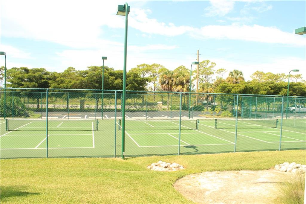 Lighted tennis courts. - Condo for sale at 8409 Placida Rd #403, Placida, FL 33946 - MLS Number is D6102047
