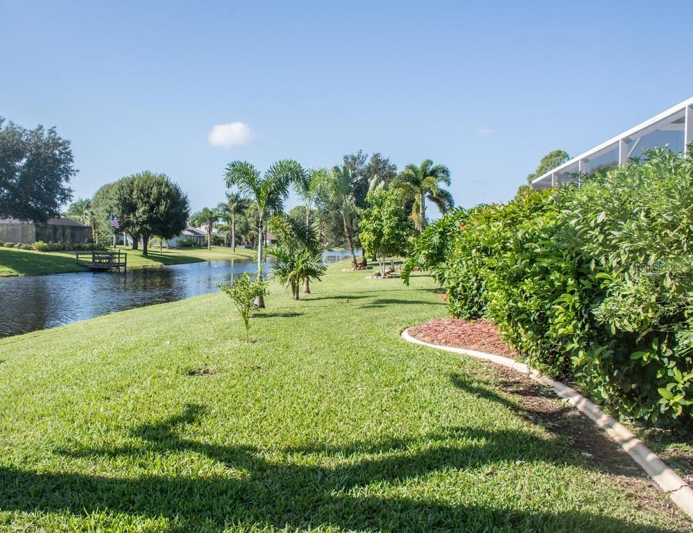 Canal view. - Single Family Home for sale at 14 Long Meadow Ln, Rotonda West, FL 33947 - MLS Number is D6102683