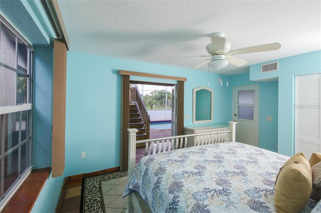 Guesthouse downstairs bedroom - Single Family Home for sale at 1819 Chadwick Rd, Englewood, FL 34223 - MLS Number is D6102770