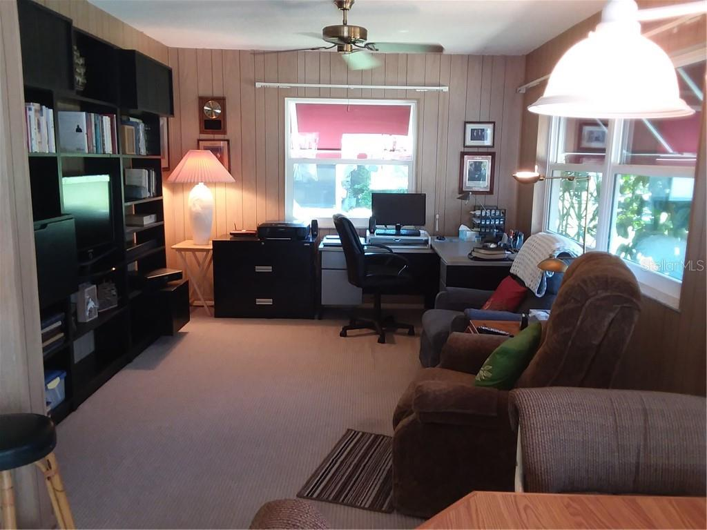 Family Room/Office/Entertainment area - Single Family Home for sale at 7 Old Trail Rd, Englewood, FL 34223 - MLS Number is D6102912