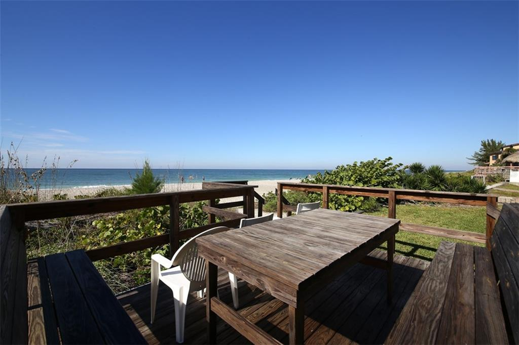 Common Deck Area on Beach - Condo for sale at 50 Meredith Dr #8, Englewood, FL 34223 - MLS Number is D6103644