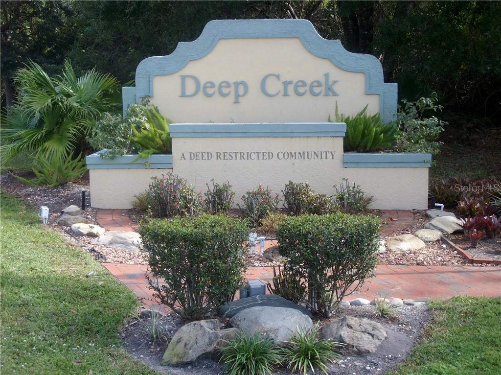 Deed Creek entryway - Vacant Land for sale at 1156 Capricorn Blvd, Punta Gorda, FL 33983 - MLS Number is D6104426