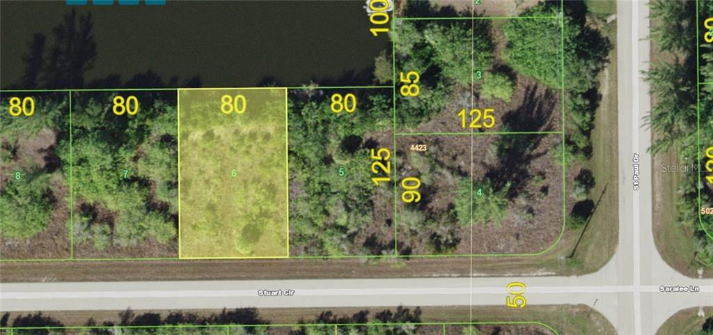 Vacant Land for sale at 15546 Stuart Cir, Port Charlotte, FL 33981 - MLS Number is D6105245