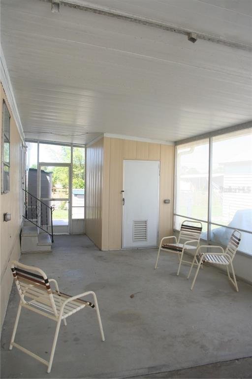 Lanai is a great place to relax. - Manufactured Home for sale at 1316 Seagull Dr, Englewood, FL 34224 - MLS Number is D6105776