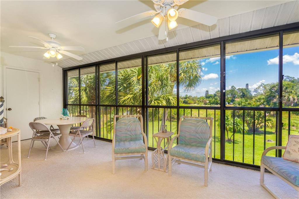 Lanai with plenty for room entertaining, relaxing or just enjoying some quiet time. - Condo for sale at 6800 Placida Rd #271, Englewood, FL 34224 - MLS Number is D6106459