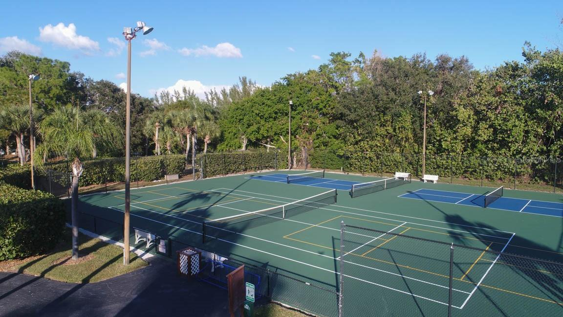Tennis & Pickle Ball courts - Condo for sale at 11000 Placida Rd #306, Placida, FL 33946 - MLS Number is D6110298