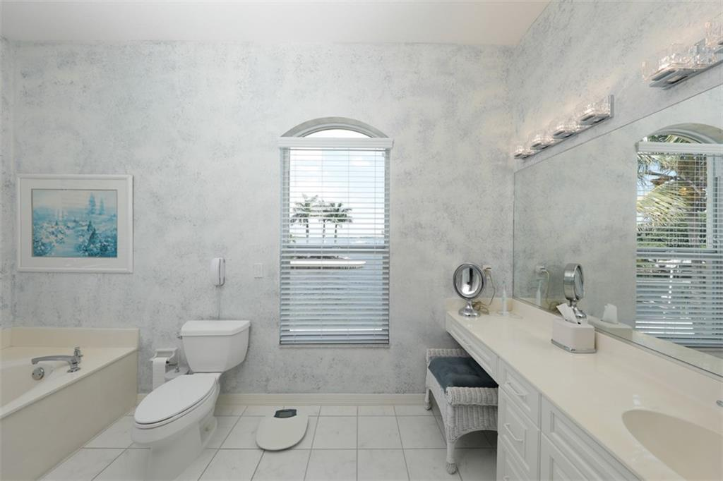 2ND MASTER BATH - Single Family Home for sale at 6793 Manasota Key Rd, Englewood, FL 34223 - MLS Number is D6112093
