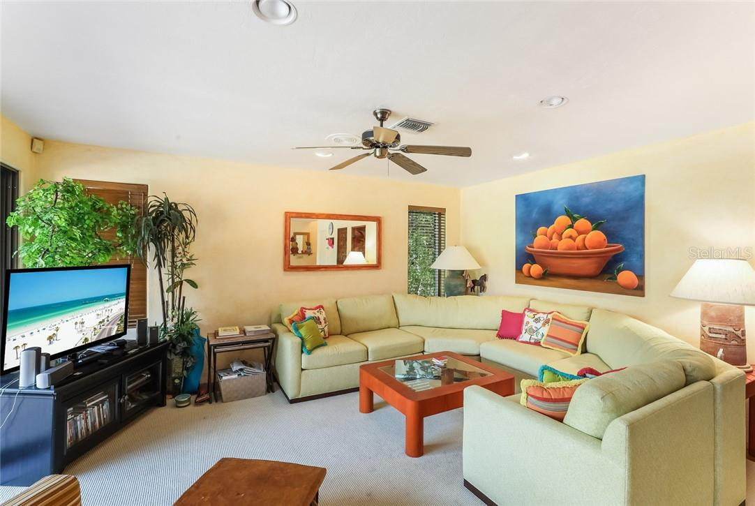 1st floor living room in guest wing - Single Family Home for sale at 4090 Loomis Ave, Boca Grande, FL 33921 - MLS Number is D6112331