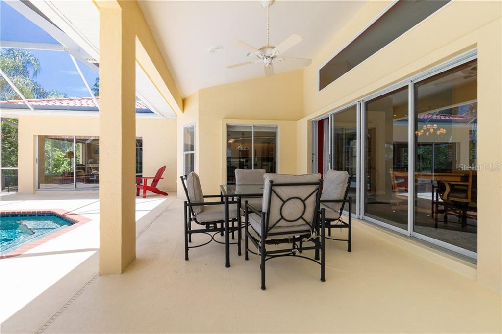 Lanai has plenty of room for entertaining! - Single Family Home for sale at 280 Capstan Dr, Placida, FL 33946 - MLS Number is D6113118