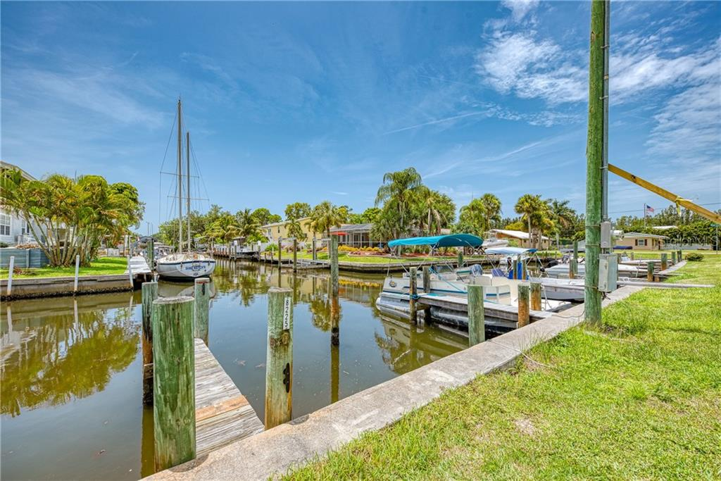 STOP BY AND CHECK THIS OUT.  BRING YOUR BOAT. - Single Family Home for sale at 8171 Robert St #B106, Englewood, FL 34224 - MLS Number is D6113242