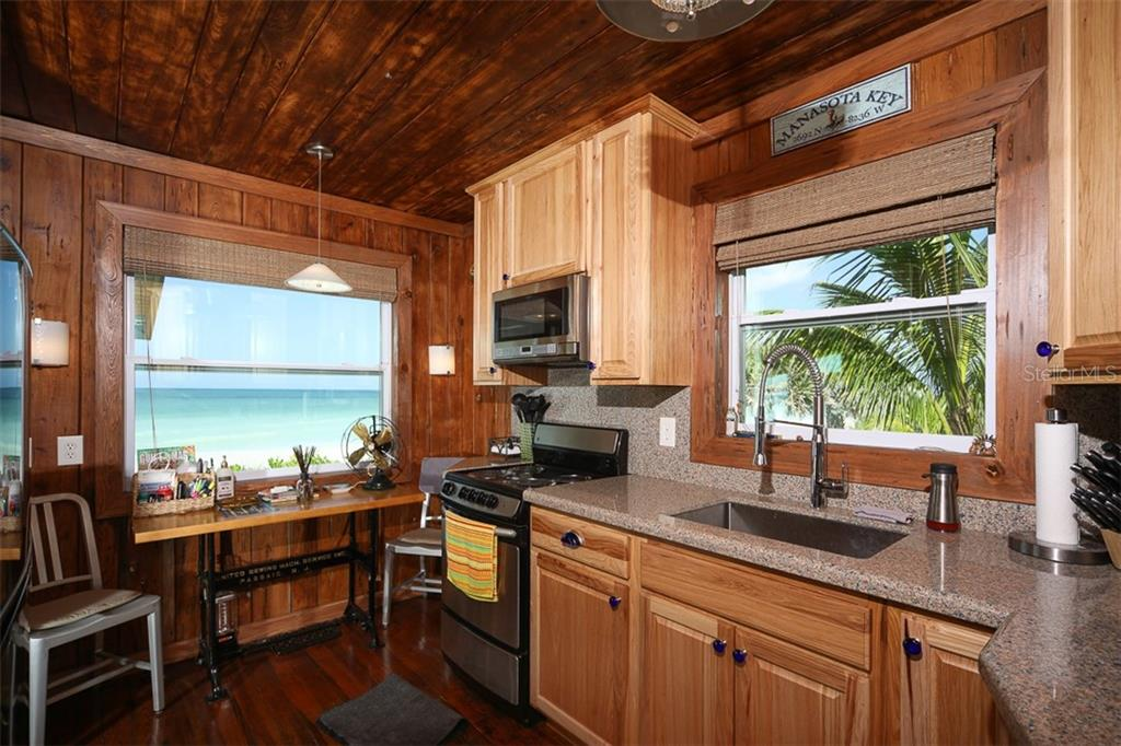 Breakfast Bar with Gulf/Beach View - Single Family Home for sale at 4074 N Beach Rd #Ctg4, Englewood, FL 34223 - MLS Number is D6114111