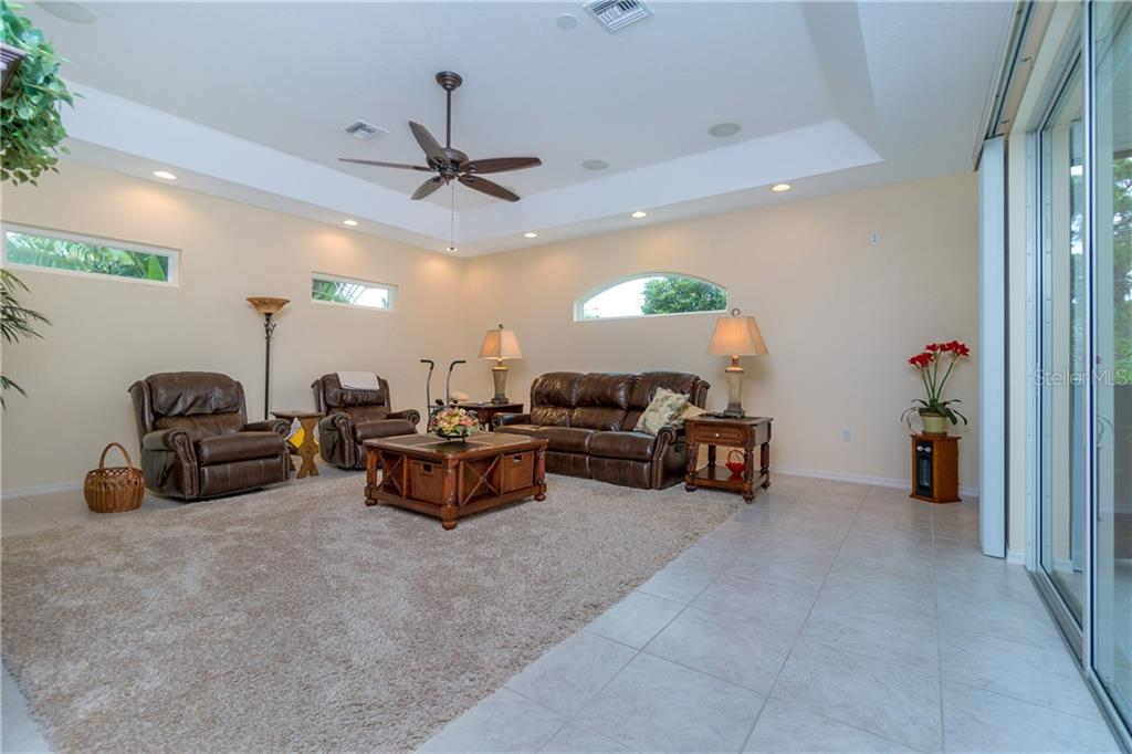 Spacious, light and bright family room. - Single Family Home for sale at 439 Boundary Blvd, Rotonda West, FL 33947 - MLS Number is D6114162