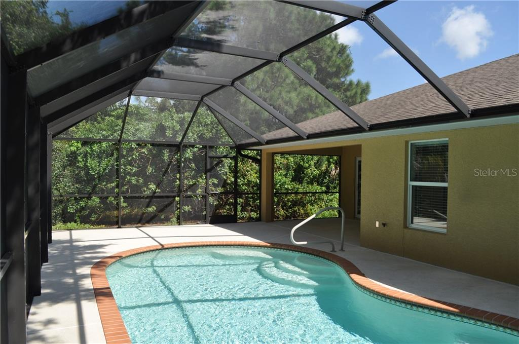 POOL AREA. - Single Family Home for sale at 112 Boxwood Ln, Rotonda West, FL 33947 - MLS Number is D6114179