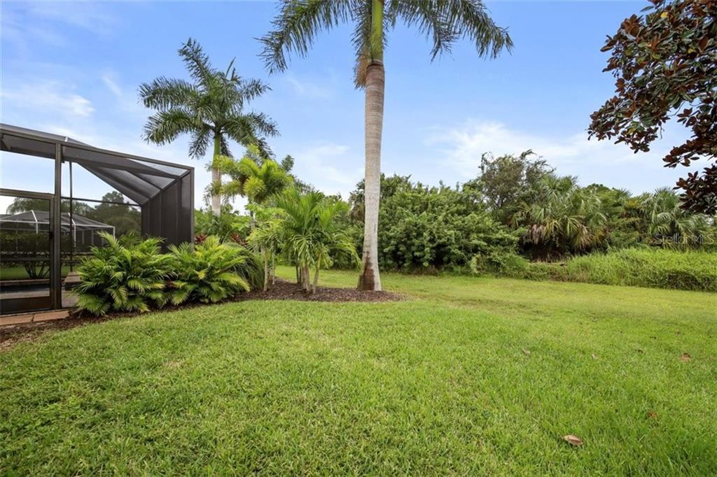 PRIVATE BACK YARD - Single Family Home for sale at 1944 Coconut Palm Cir, North Port, FL 34288 - MLS Number is D6114523