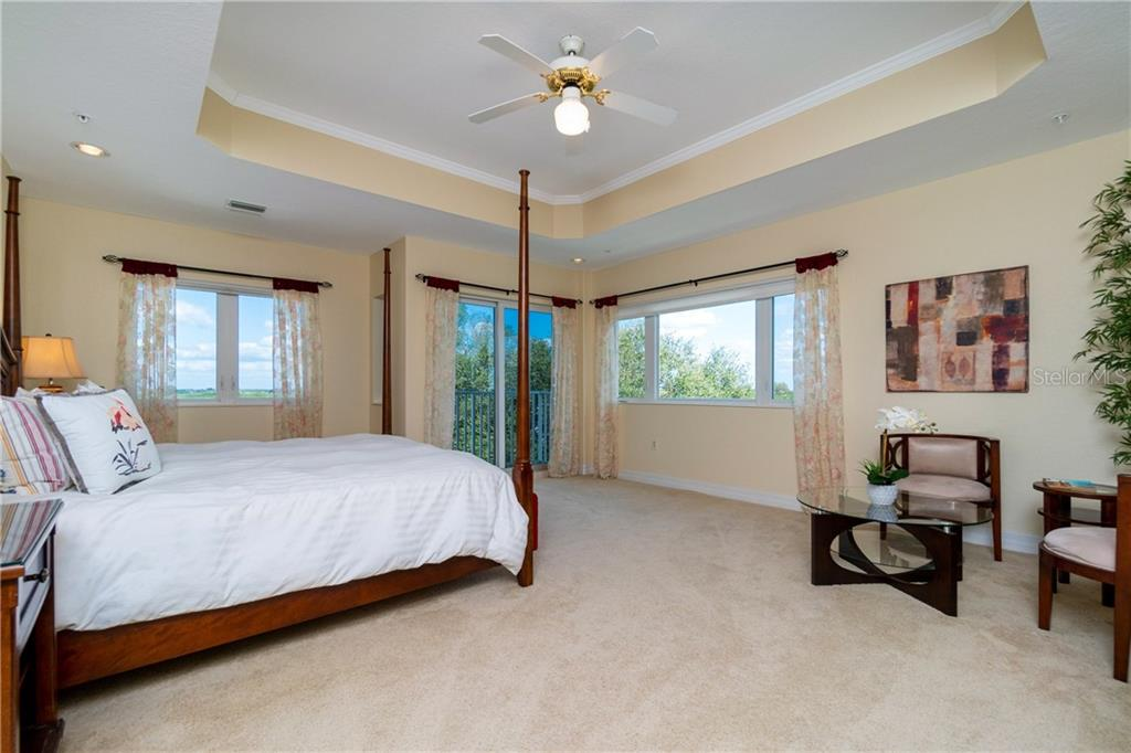 Roomy Master with Sitting Area and Views - Condo for sale at 2225 N Beach Rd #401, Englewood, FL 34223 - MLS Number is D6114646