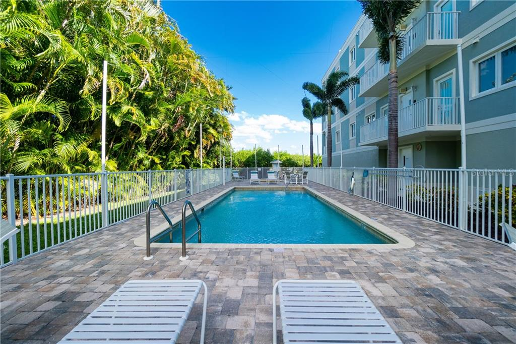 Heated Pool - Condo for sale at 2225 N Beach Rd #401, Englewood, FL 34223 - MLS Number is D6114646