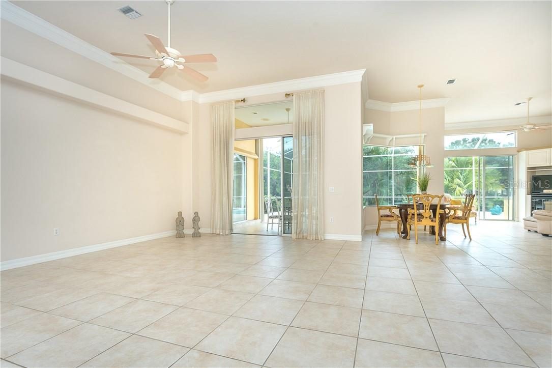 Fabulous open view from the moment you step in !! - Single Family Home for sale at 18 Saint Croix Way, Englewood, FL 34223 - MLS Number is D6114880