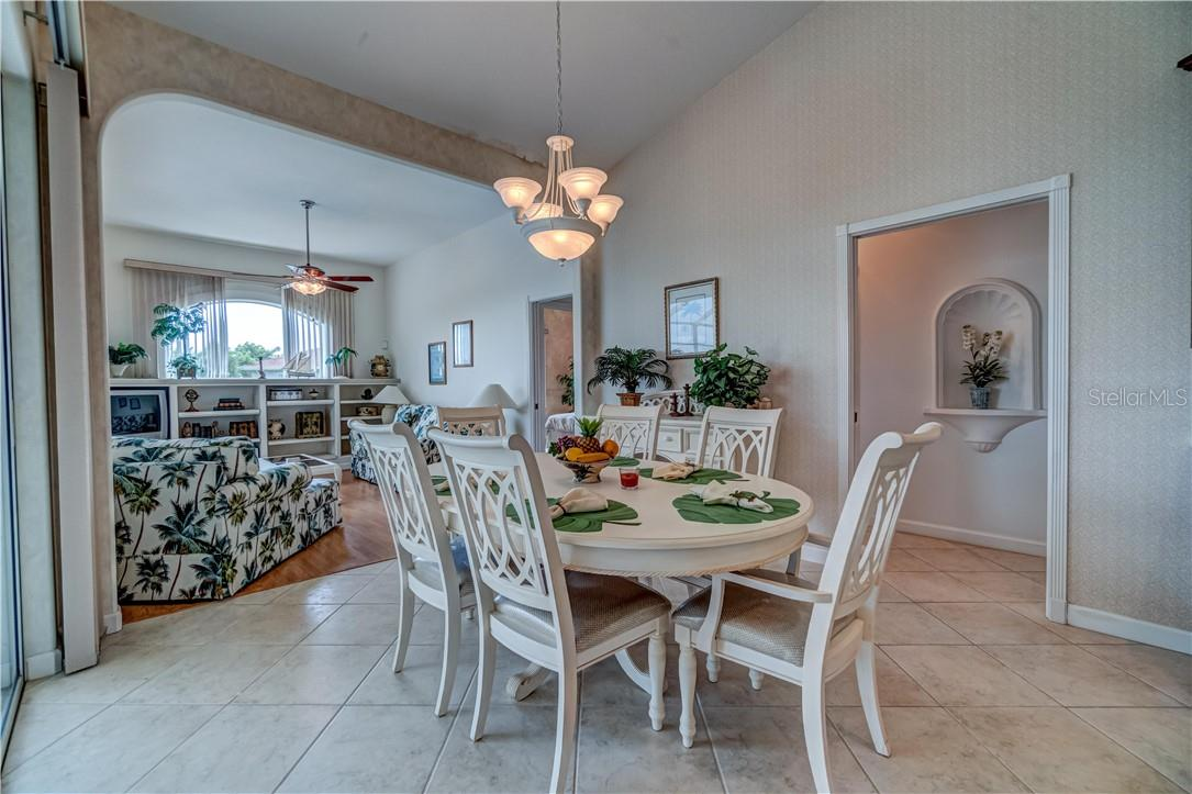 While we're on the topic of entertaining, this home offers many opportunities with this informal dining area. - Single Family Home for sale at 12307 S Access Rd, Port Charlotte, FL 33981 - MLS Number is D6117140