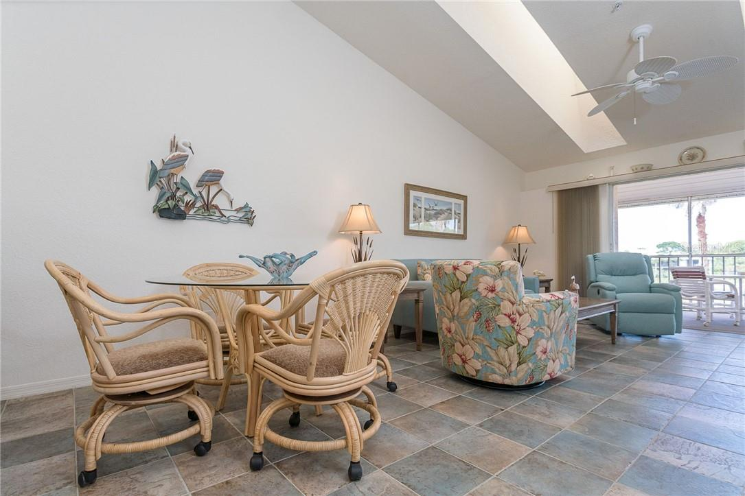 2 large skylights make this 2nd floor unit nice and bright - Condo for sale at 6610 Gasparilla Pines Blvd #229, Englewood, FL 34224 - MLS Number is D6117434
