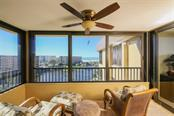 Lanai and View - Condo for sale at 5760 Midnight Pass Rd #702, Sarasota, FL 34242 - MLS Number is D5916943