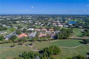 Aerial Golf Course Location - Single Family Home for sale at 422 Wincanton Pl, Venice, FL 34293 - MLS Number is D6101809