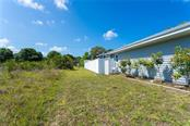 Most of the lot has white vinyl fencing for your privacy - Single Family Home for sale at 190 W Wentworth St, Englewood, FL 34223 - MLS Number is D6106918