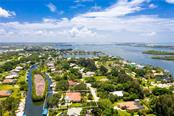 Aerial view 10 - Single Family Home for sale at 280 Capstan Dr, Placida, FL 33946 - MLS Number is D6113118