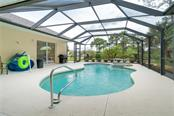 Another view of the pool area. - Single Family Home for sale at 439 Boundary Blvd, Rotonda West, FL 33947 - MLS Number is D6114162
