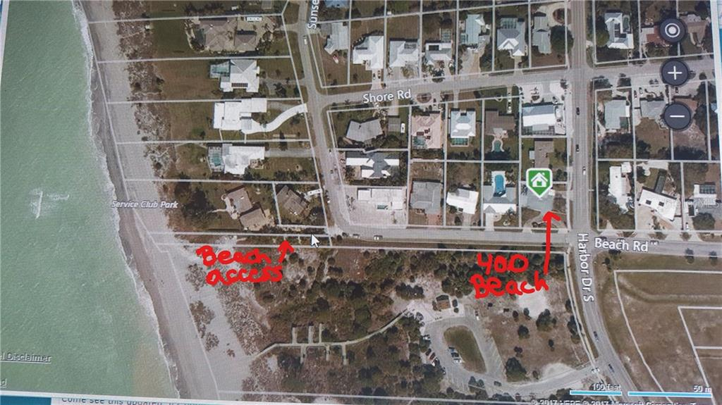 Single Family Home for sale at 400 Beach Rd, Venice, FL 34285 - MLS Number is T2832703