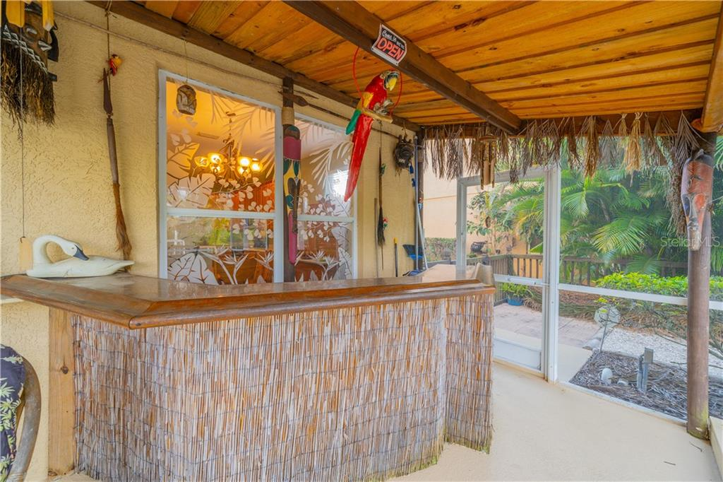 Tiki Bar for entertaining - Single Family Home for sale at 3811 5th Ave Ne, Bradenton, FL 34208 - MLS Number is T3164424