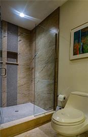New Master Bath shower enclosure - Single Family Home for sale at 140 N Casey Key Rd, Osprey, FL 34229 - MLS Number is T3228618