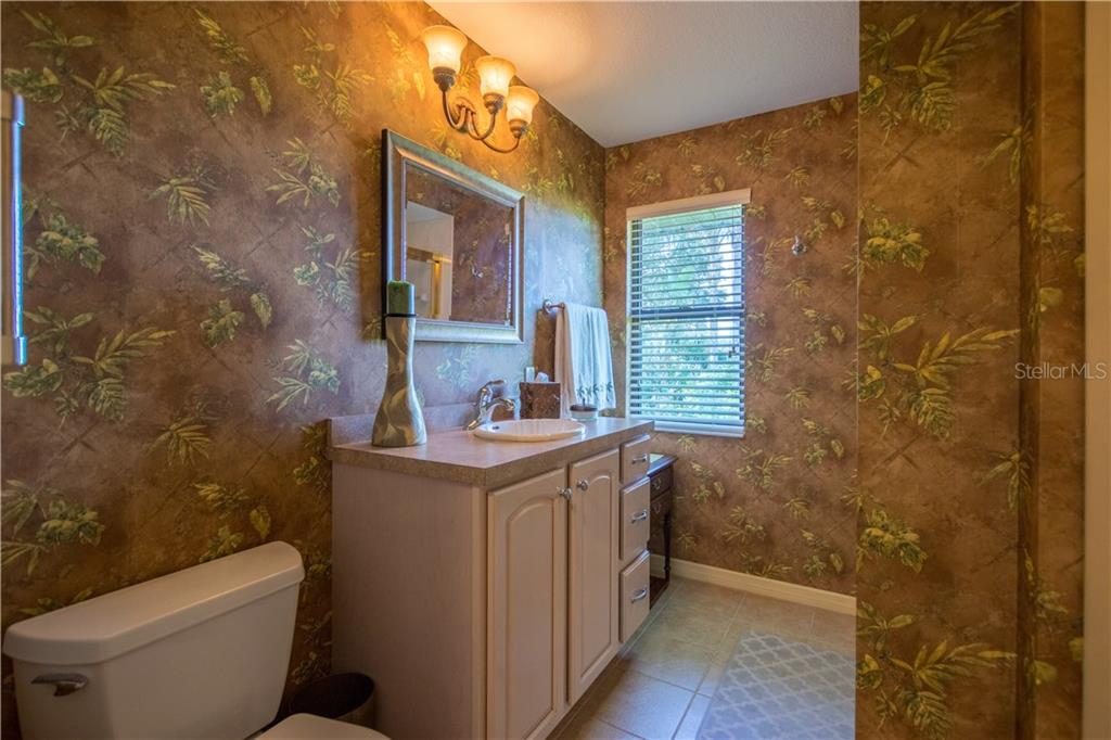 The second bath is as elegant as any powder room. - Single Family Home for sale at 7353 S Plum Tree, Punta Gorda, FL 33955 - MLS Number is C7242349