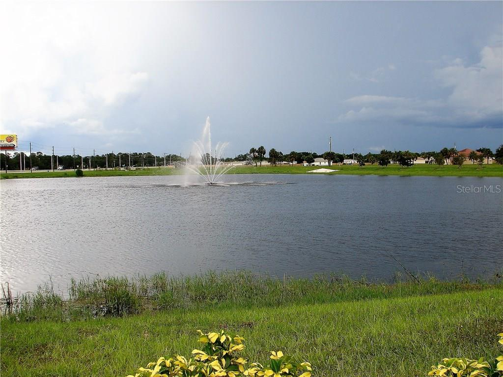 Beautiful water feature - Vacant Land for sale at 25478 Estrada Cir, Punta Gorda, FL 33955 - MLS Number is C7242940