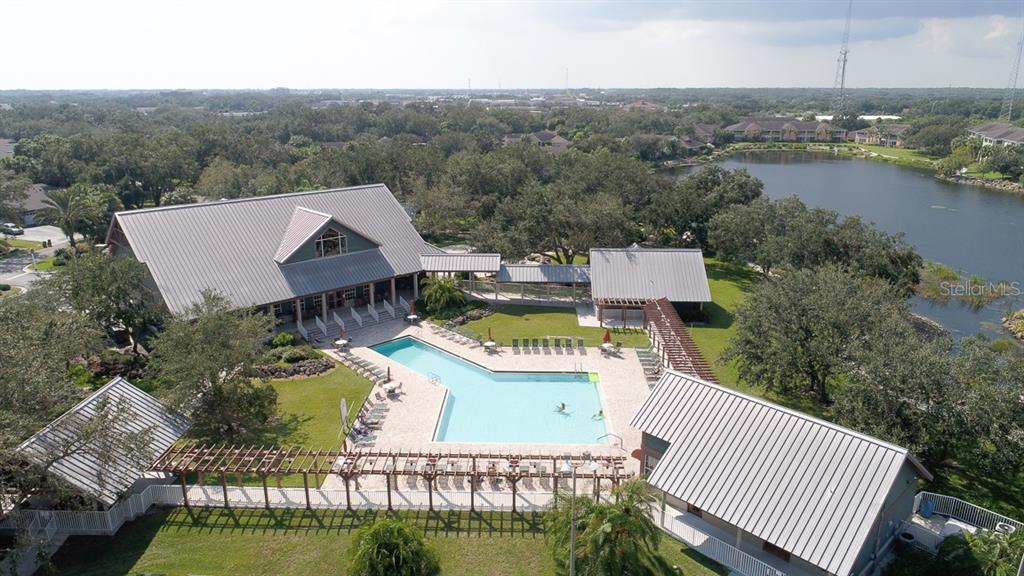 Fabulous clubhouse with large pool is one of the many amenities in Heritage Oak Park - Villa for sale at 1268 Green Oak Trl, Port Charlotte, FL 33948 - MLS Number is C7243755