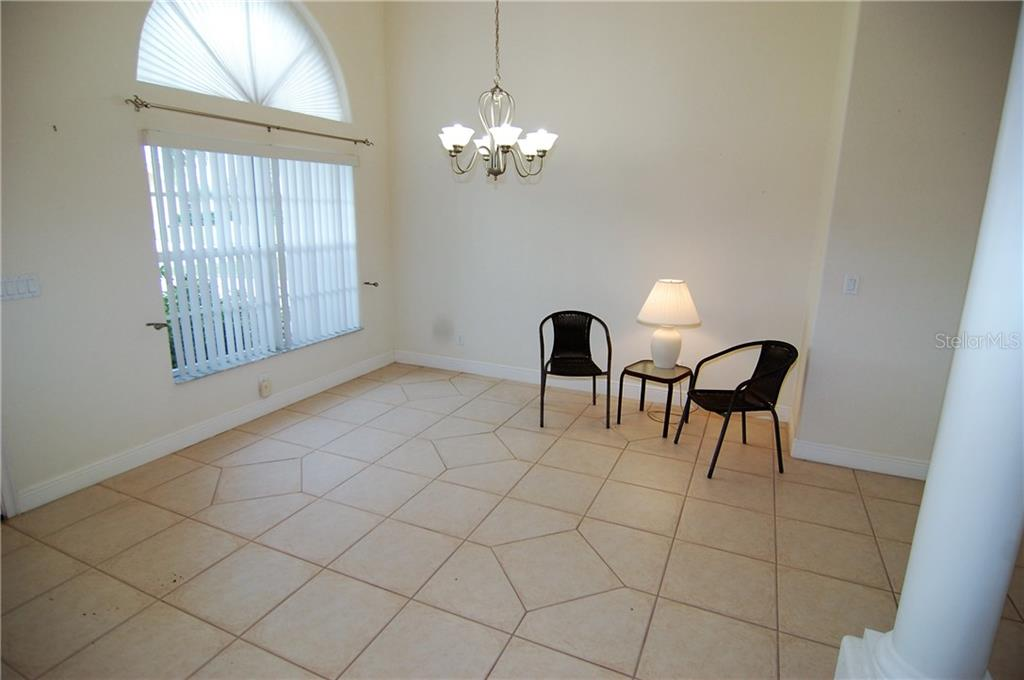 Formal dinning area - Single Family Home for sale at 7376 Schefflera, Punta Gorda, FL 33955 - MLS Number is C7245991