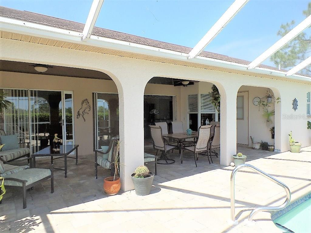 SPACIOUS SCREENED LANIA & POOL + HOT TUB !! - Single Family Home for sale at 16100 Water Oak Ct, Punta Gorda, FL 33982 - MLS Number is C7250659