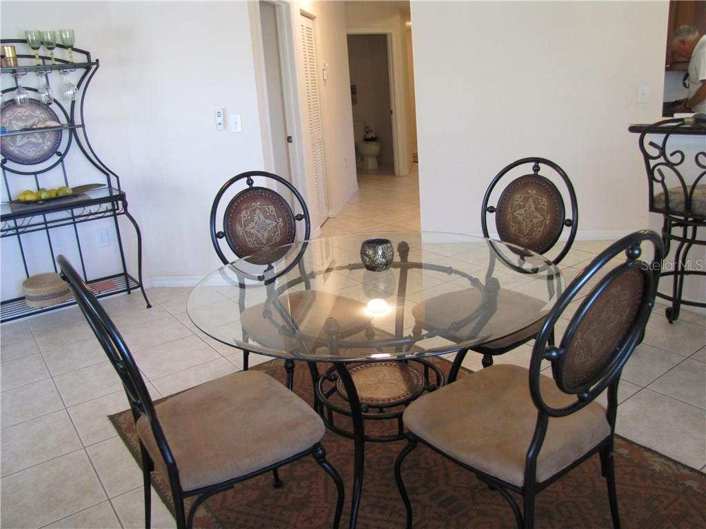 Dining Area - Condo for sale at 3322 Purple Martin Dr #121, Punta Gorda, FL 33950 - MLS Number is C7251289
