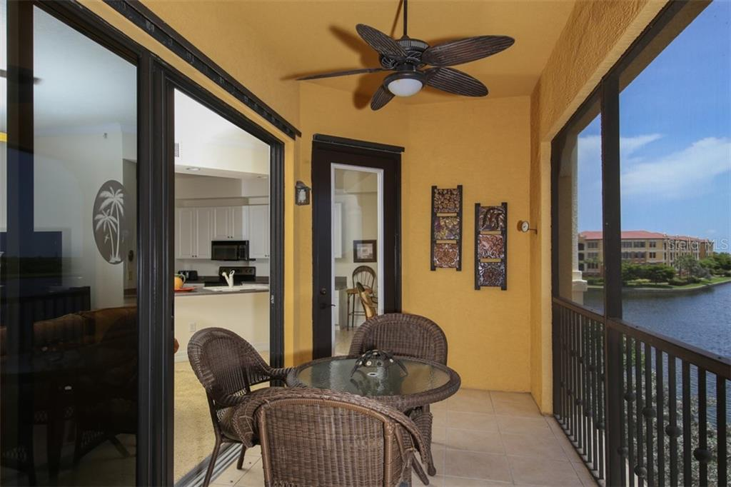 Enjoy your morning coffee or evening libation - Condo for sale at 95 Vivante Blvd #303, Punta Gorda, FL 33950 - MLS Number is C7402746