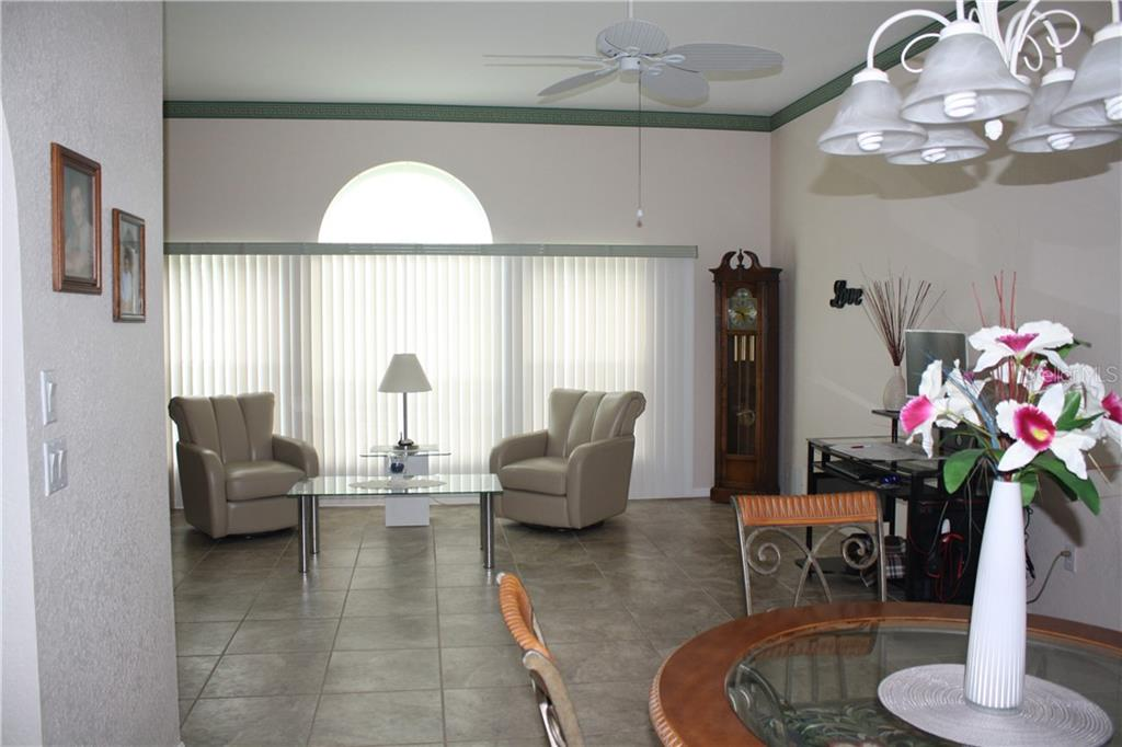 Formal Living Room as seen from Dining Room. - Single Family Home for sale at 25378 Rupert Rd, Punta Gorda, FL 33983 - MLS Number is C7403652
