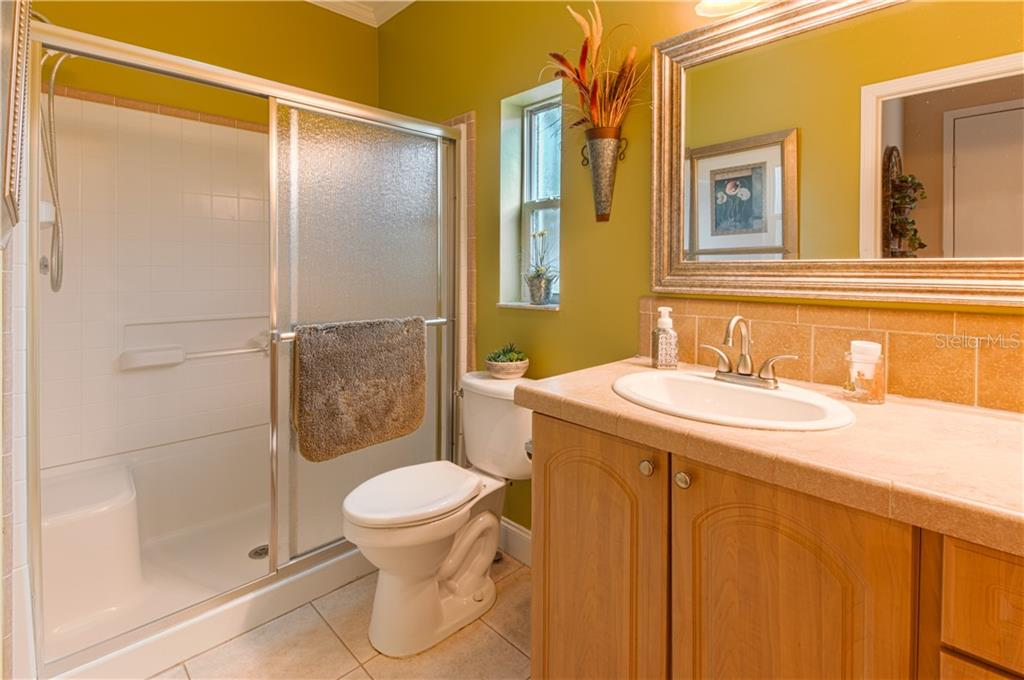 Second bathroom - Single Family Home for sale at 8663 Lake Front Ct, Punta Gorda, FL 33950 - MLS Number is C7403960