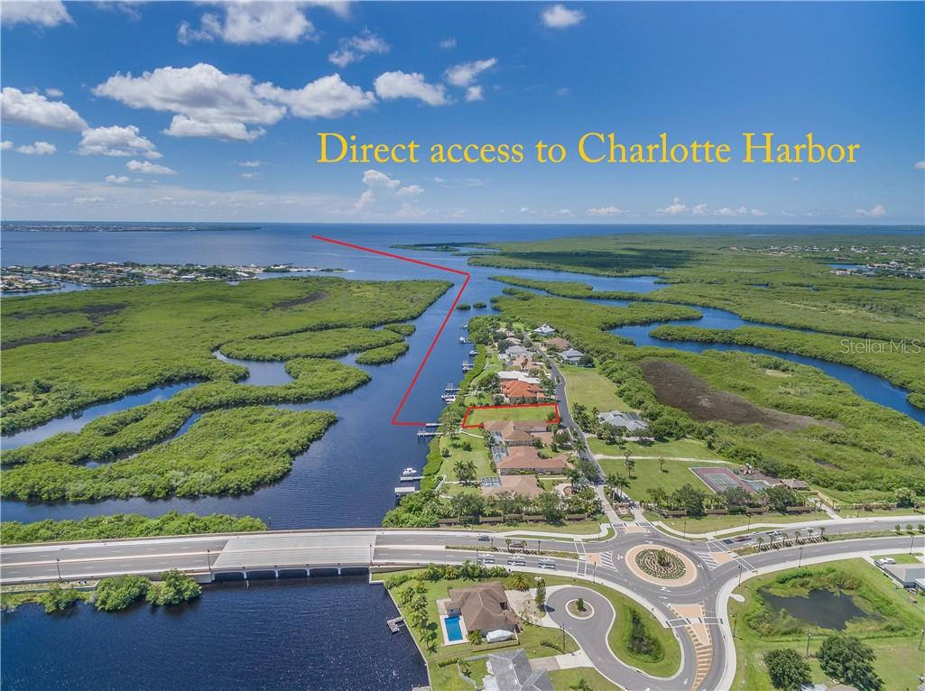 Parcel #4 is on the East Spring Waterway leading directly into Charlotte Harbor on the west coast of Florida. East Spring waterway and Charlotte Harbor are surrounded by thousands of acres of estuaries protected by State and Federal ownership. - Vacant Land for sale at 4030 Lea Marie Island Dr, Port Charlotte, FL 33952 - MLS Number is C7404124